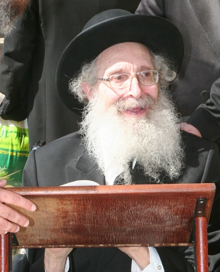 Picture of Rabbi Nosson Tzvi Finkel.