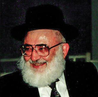 Picture of Rabbi Yaakov Weinberg.
