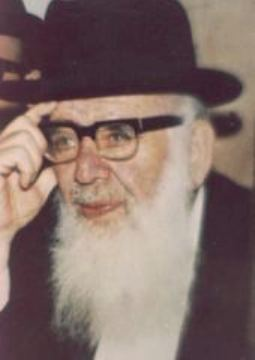 Picture of Rabbi Chaim Shmuelevitz.