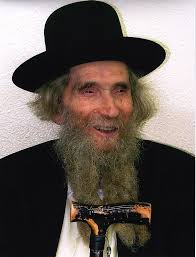 Picture of Rabbi Ahron Leib Shteinman.