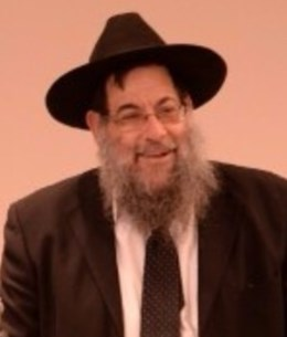 Picture of Rabbi Yochanan Rudensky.