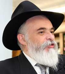 Picture of Rabbi Moshe New.