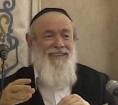 Picture of Rabbi Yitzchok Zilberstein.