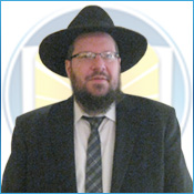 Picture of Rabbi Yitzchok Schechter.