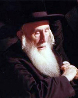 Picture of Rabbi Yisroel Spiro (Bluzhover Rebbe).