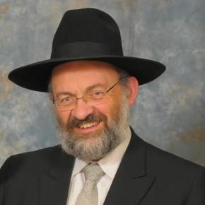 Picture of Rabbi Reuven Leuchter.