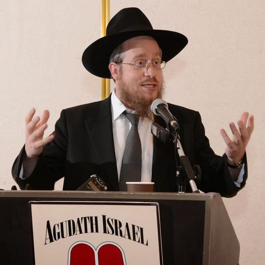 Picture of Rabbi Nissan Kaplan.