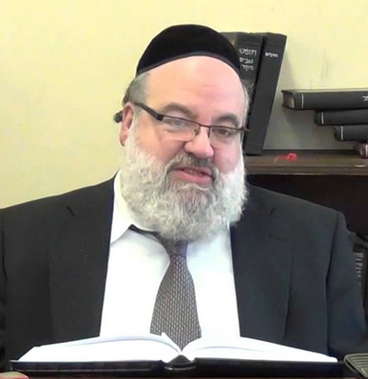 Picture of Rabbi Yisroel Brog.