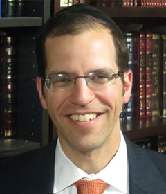Picture of Rabbi Aryeh Lebowitz.