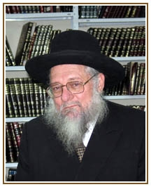Picture of Rabbi Zev Leff.