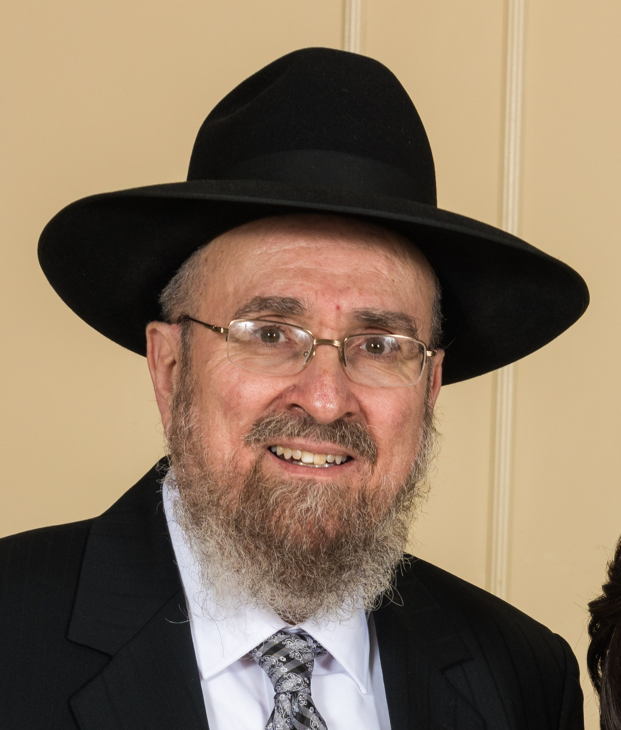 Picture of Rabbi Aaron Garfinkel.