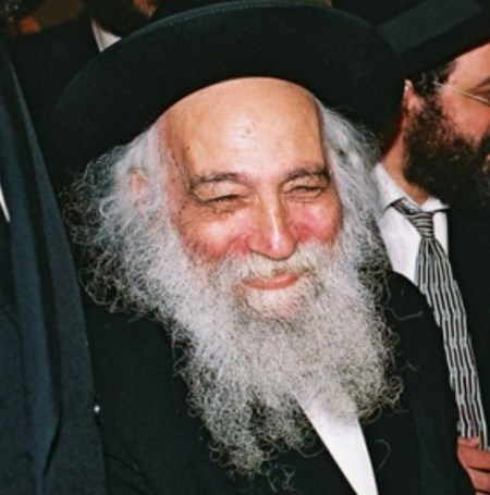 Picture of Rabbi Baruch Ber Povarsky.