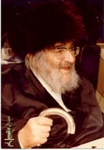 Picture of Rabbi Yitzchak Hutner.