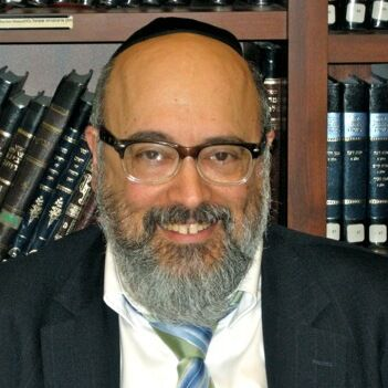 Picture of Rabbi Chaim Goldberger.