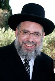Picture of Rabbi Yaacov Haber.