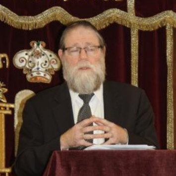 Picture of Rabbi Eliyahu Reingold.