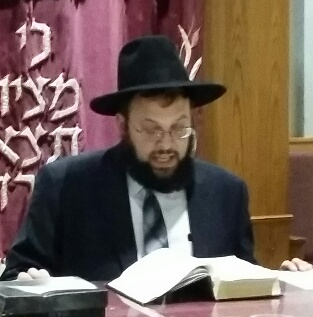 Picture of Rabbi Dovid Rosenbaum.