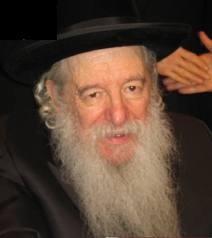 Picture of Rabbi Yaakov Perlow (Novominsker Rebbe).
